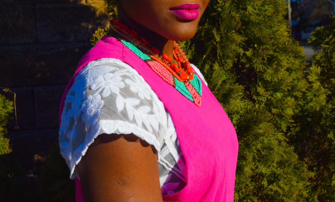 Befitting Style Oyinkan Wearing Floral Full Skirt 29