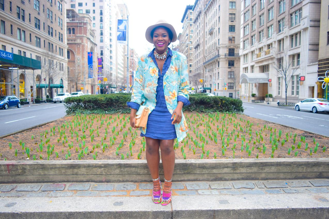 Befitting Style Shirt dress- Oversize Button Down_