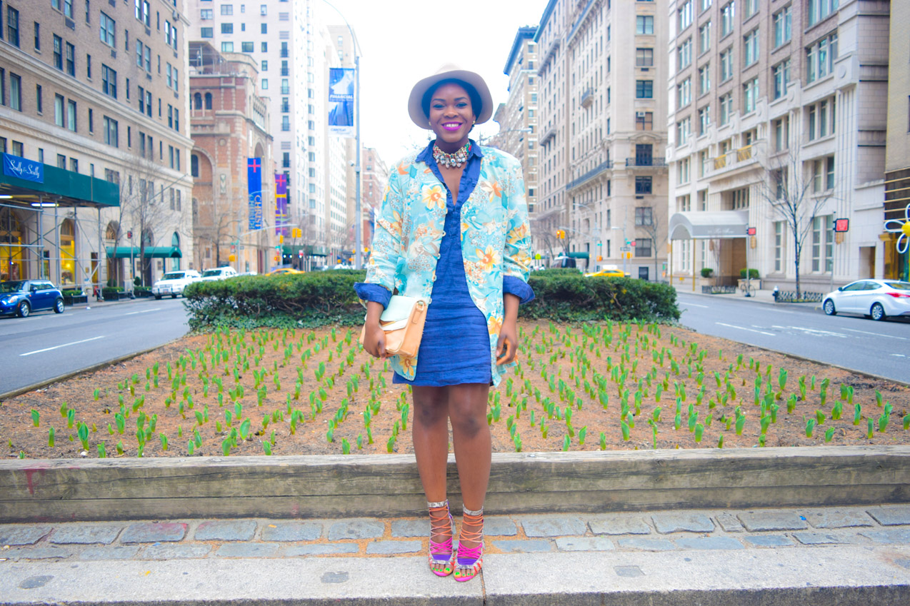 Befitting Style Shirtdress with Oversize Button Down 2