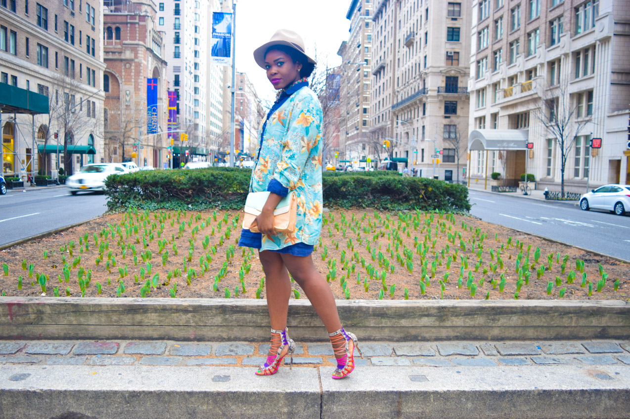 Befitting Style Shirtdress with Oversize Button Down 4