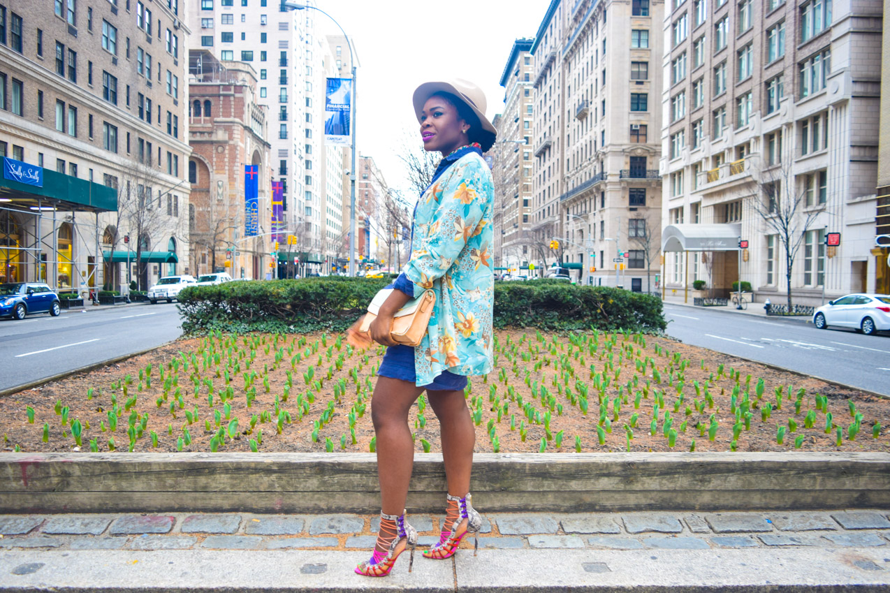 Befitting Style Shirtdress with Oversize Button Down 5