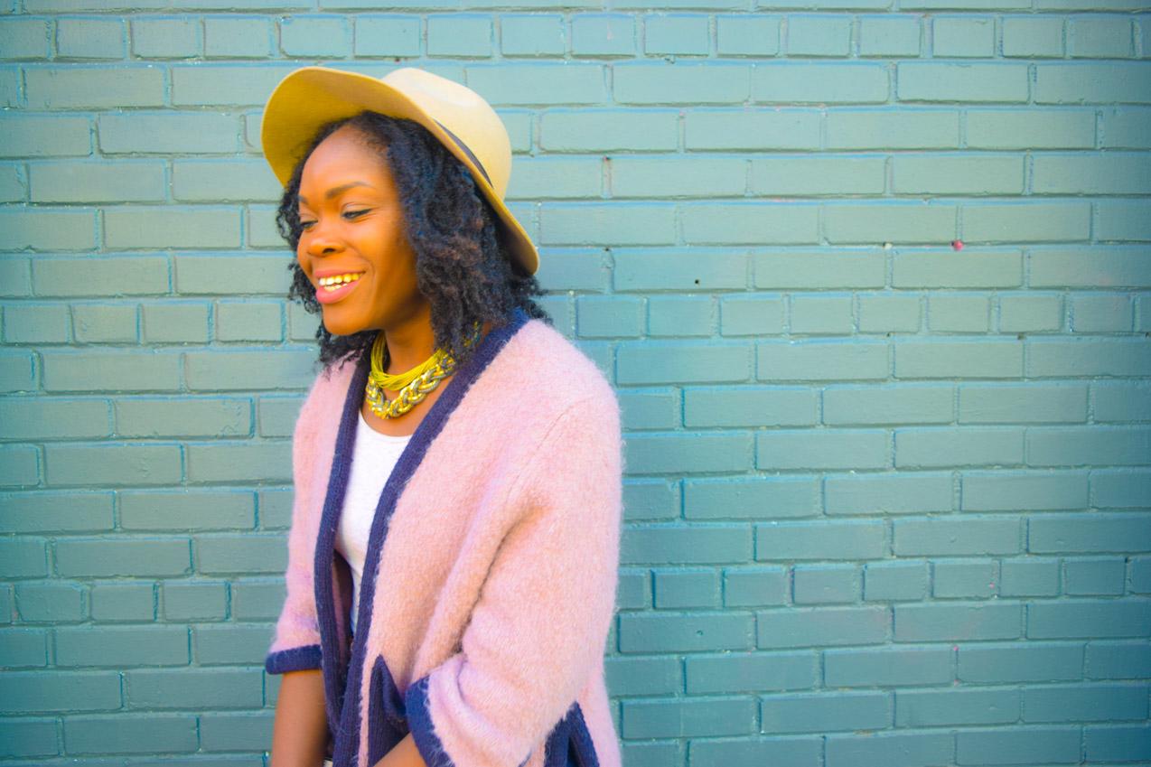 Befitting Style Oyinkan Wearing High Low Sweater 26