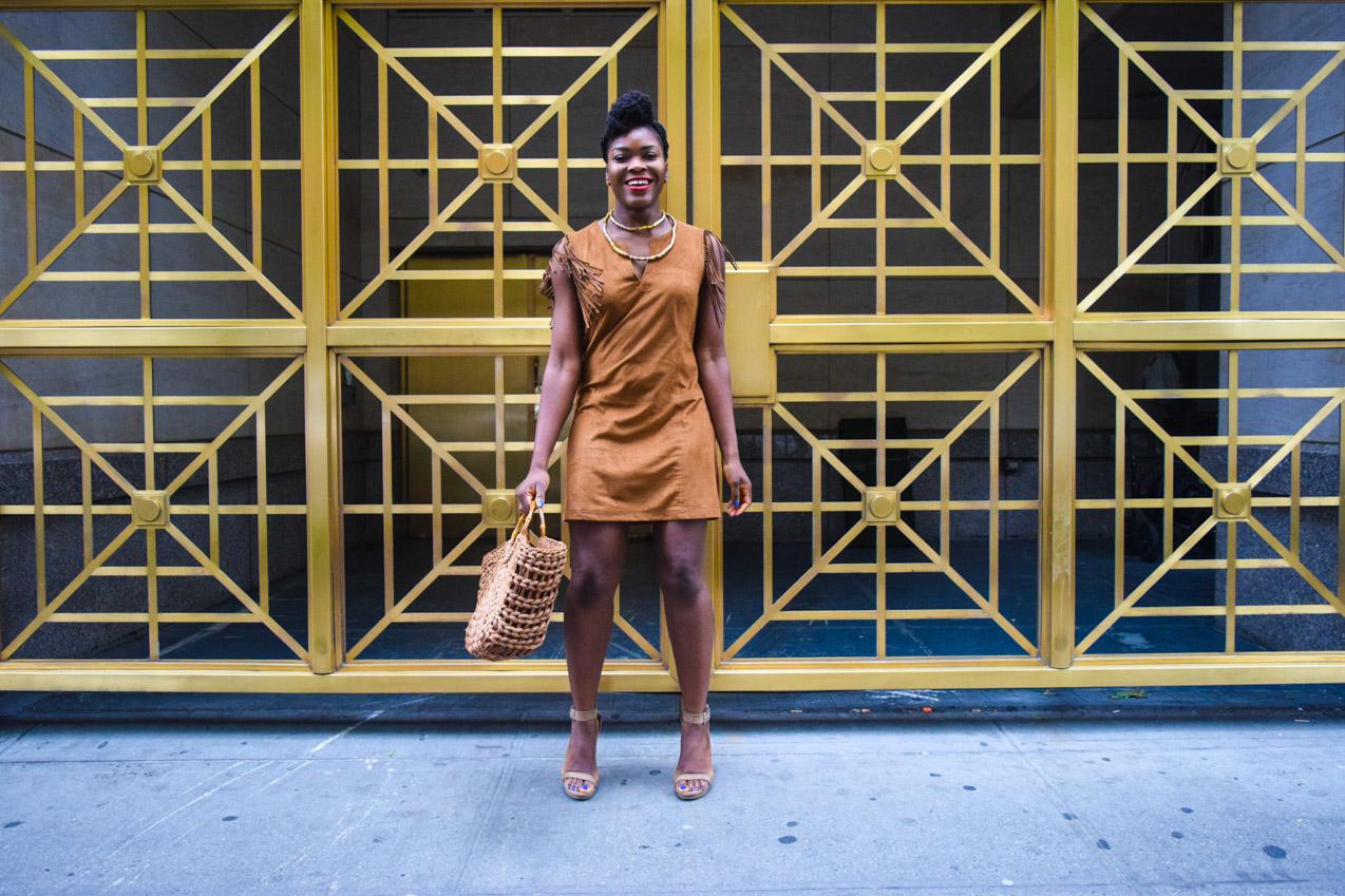 Befitting Style Oyinkan Wearing Brown In The Spring 20