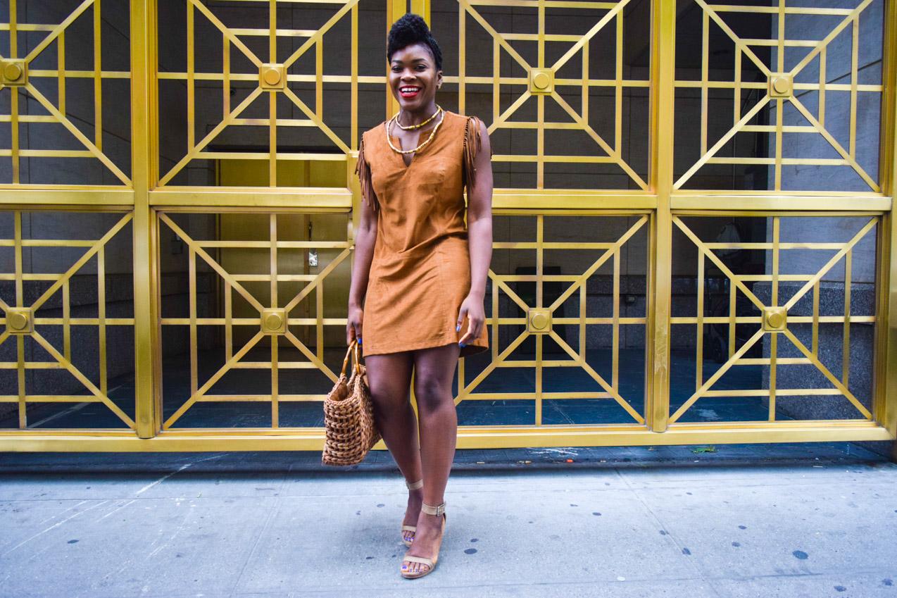 Befitting Style Oyinkan Wearing Brown In The Spring 6