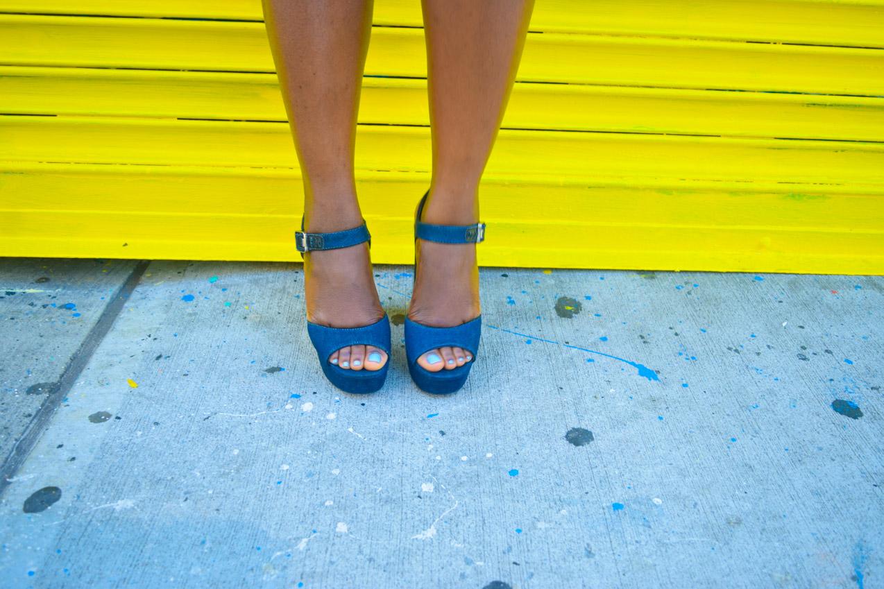 Befitting Style Oyinkan Wearing Summer Layers Shirtdress Sheer Dress 20