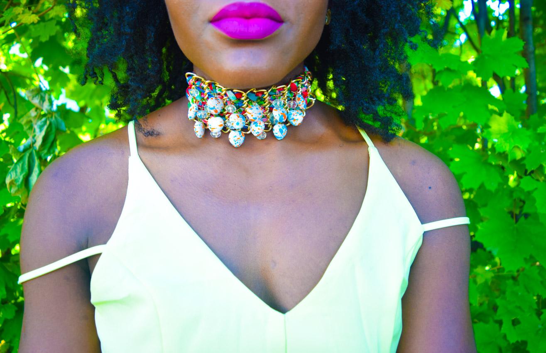 Befitting Style Oyinkan Wearing Yellow Summer Dress 31