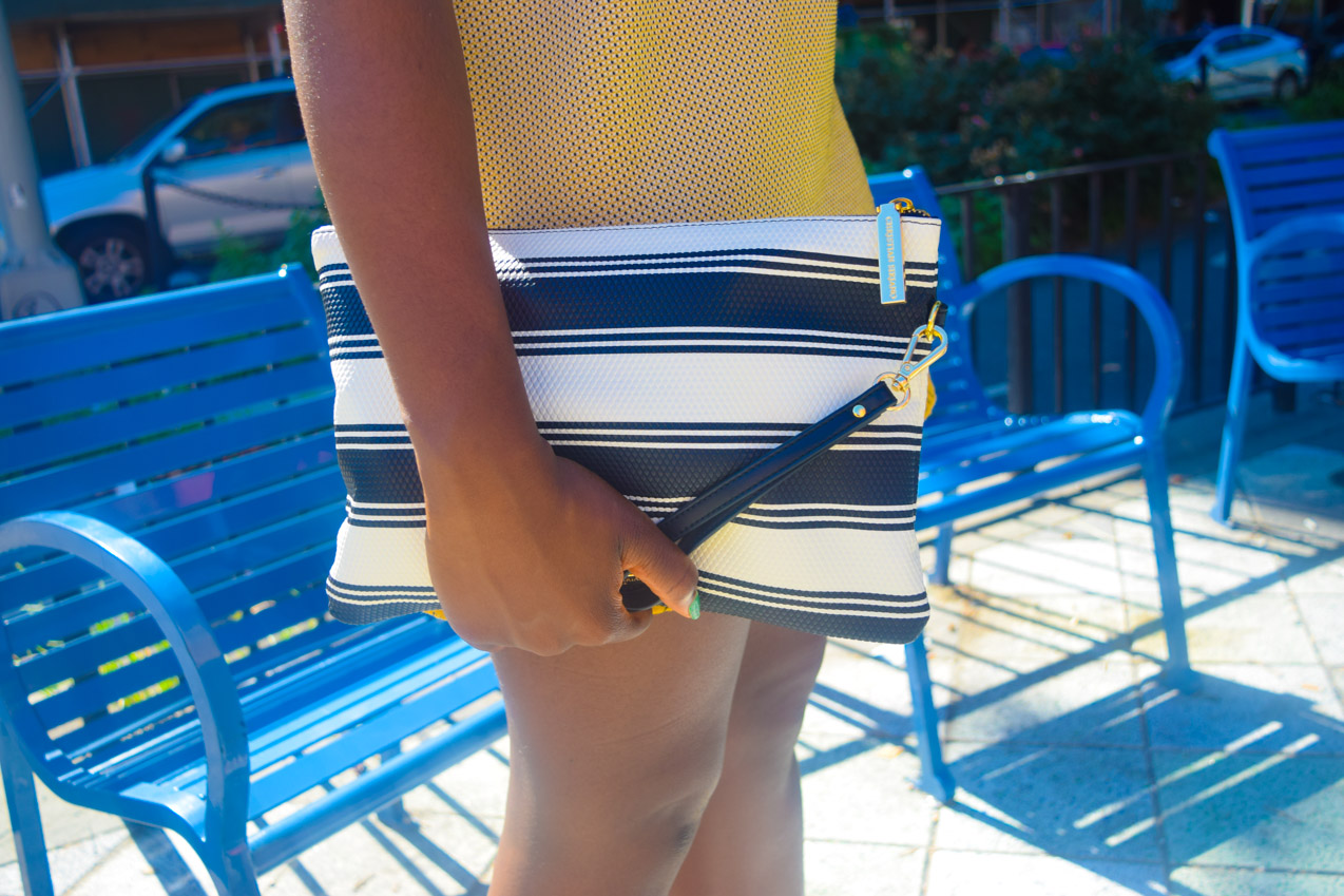 Befitting Style Oyinkan Wearing Yellow Printed Dress 27