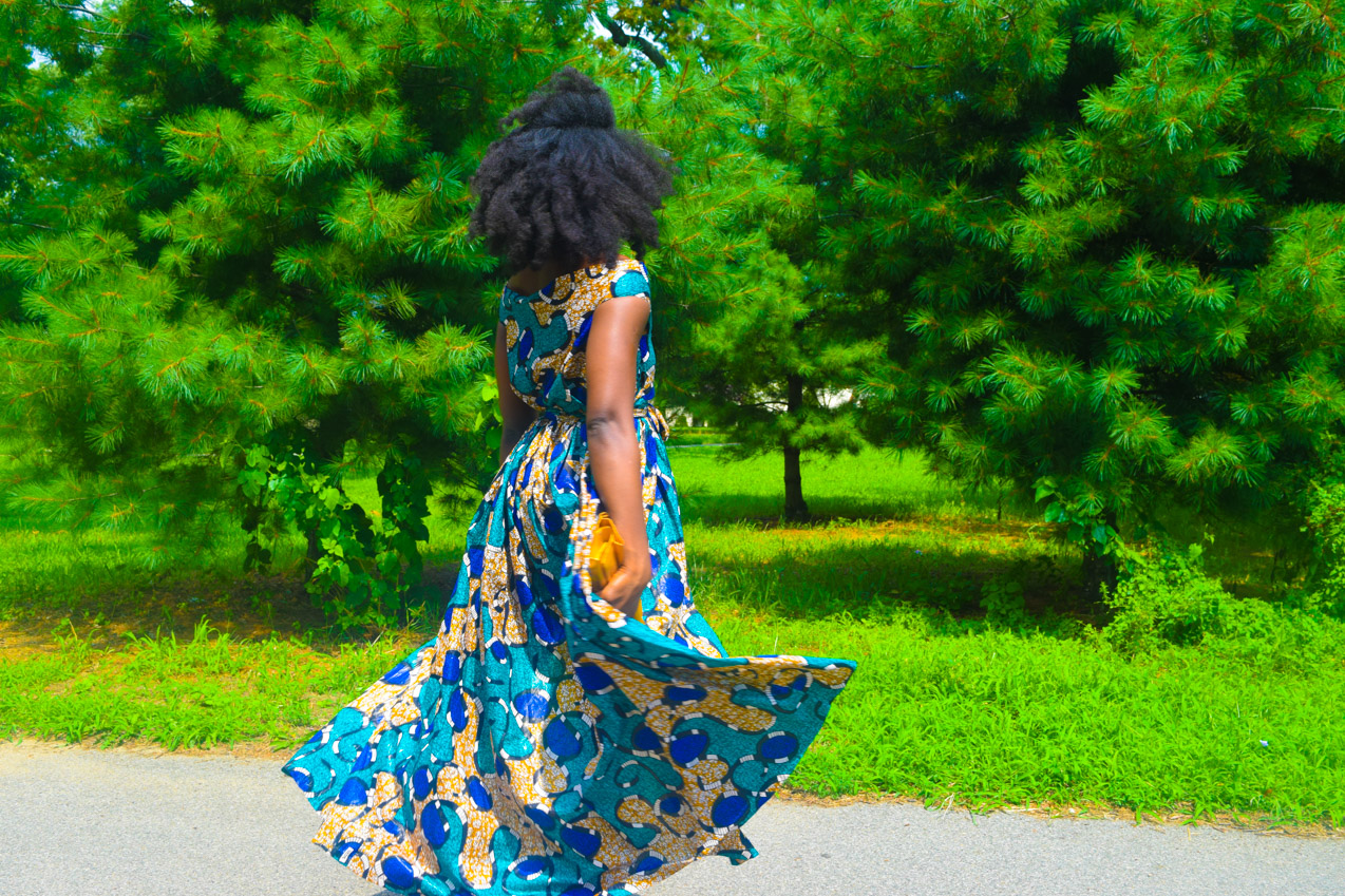 Befitting Style Oyinkan Wearing Ankara Dress Wedding Guest 22