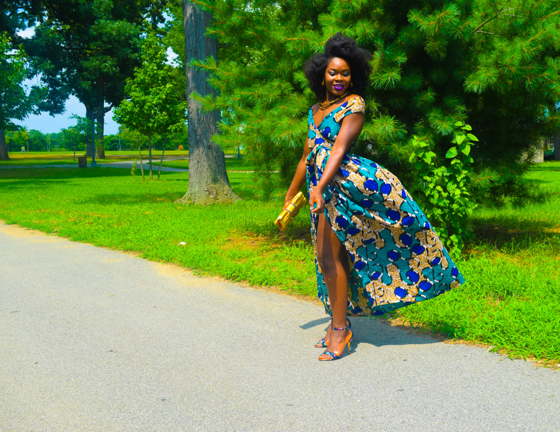 Befitting Style Oyinkan Wearing Ankara Dress Wedding Guest 25