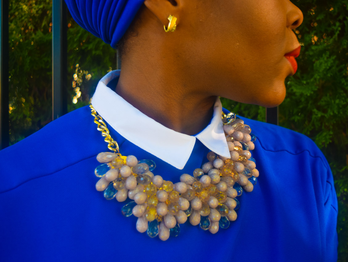 Befitting Style Oyinkan Wearing Turban + Shirtdress 24