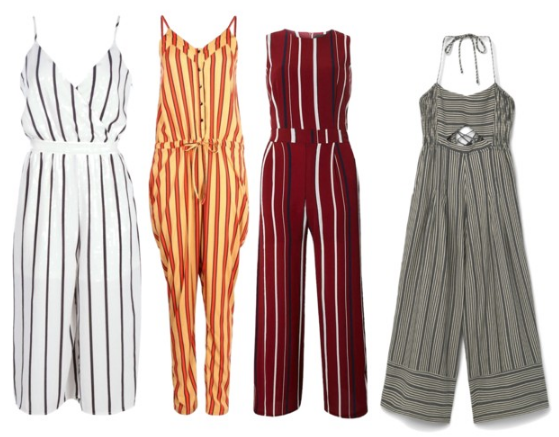 Befitting Style Stripe Jumpsuit Under 45