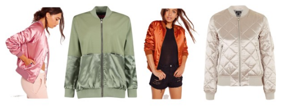 Bomber Jacket Under$75 Satin Cheap Befitting Style