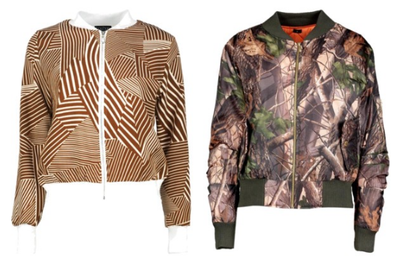 Bomber Jackets Under $75 Cheap Brown Befitting Style