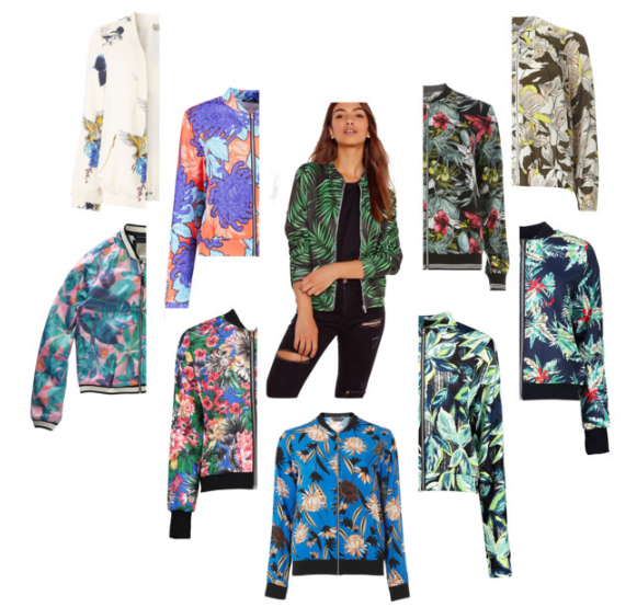 Bomber Jackets Under $75 Cheap Florals Befitting Style