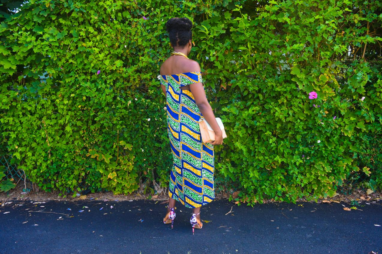 Befitting Style Oyinkan Wearing Ankara Dress NYFW Day 1 10