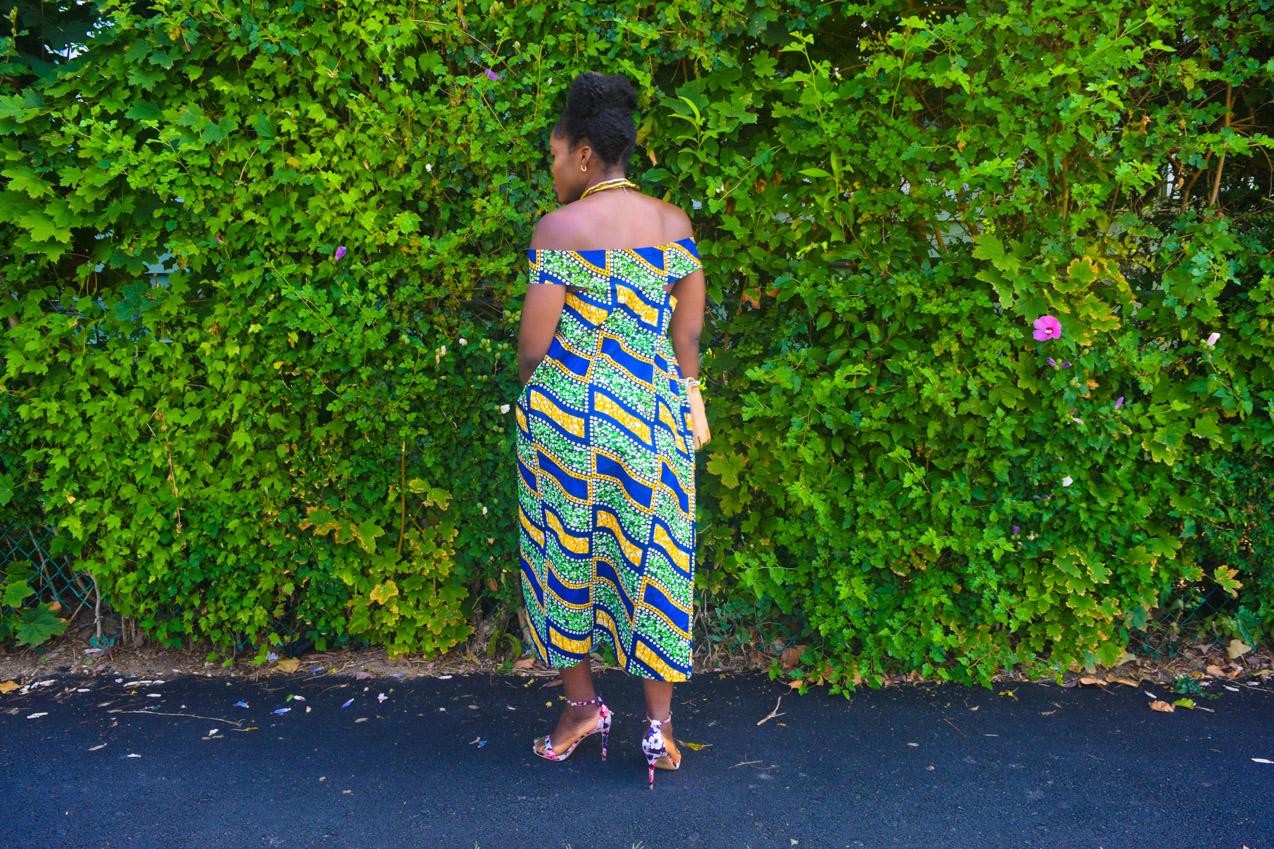 Befitting Style Oyinkan Wearing Ankara Dress NYFW Day 1 11