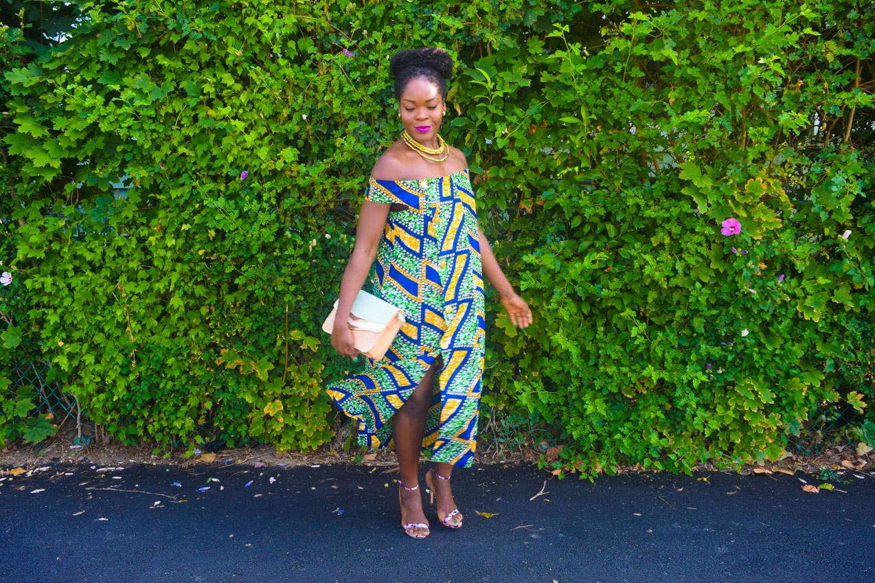Befitting Style Oyinkan Wearing Ankara Dress NYFW Day 1 15