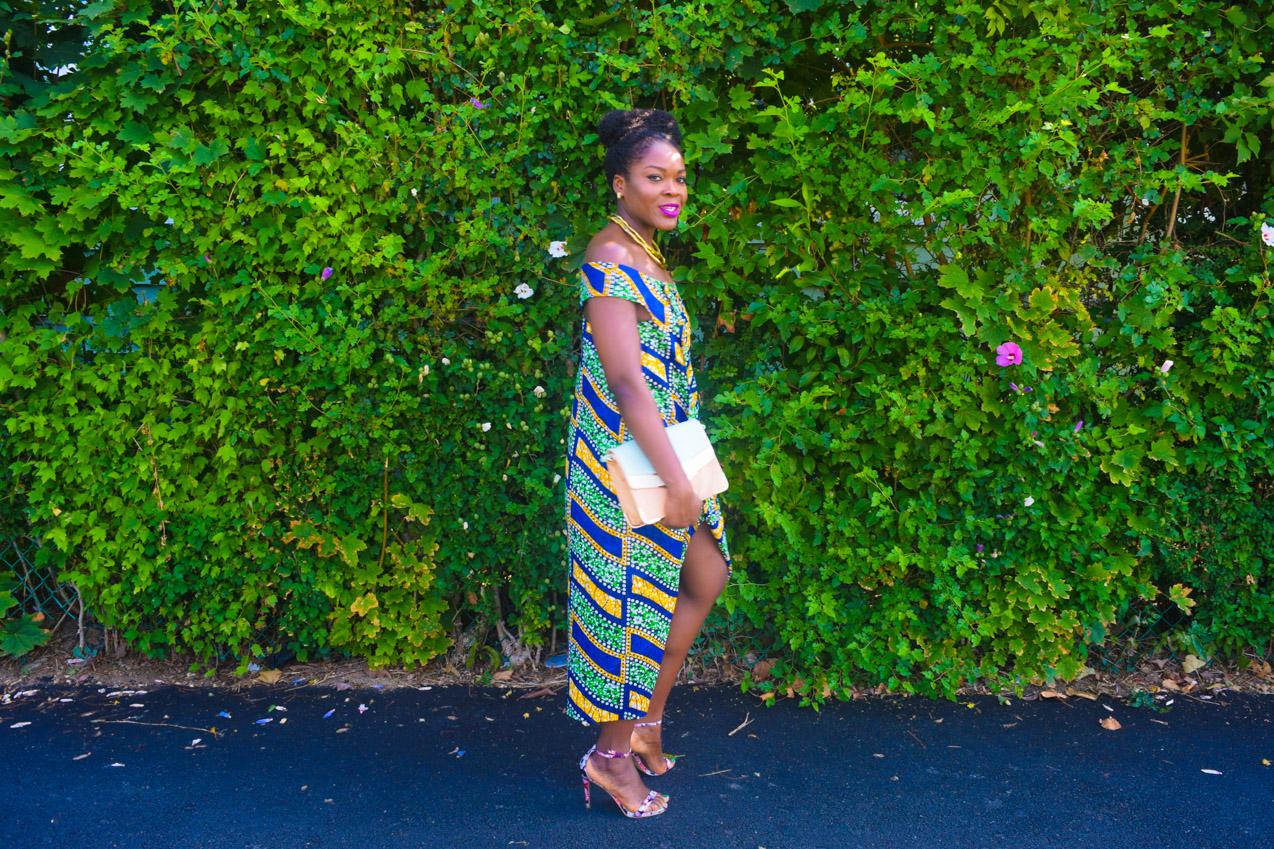 Befitting Style Oyinkan Wearing Ankara Dress NYFW Day 1 17