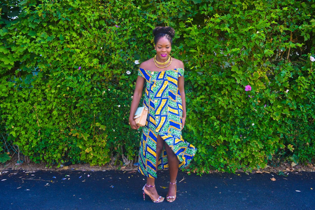 Befitting Style Oyinkan Wearing Ankara Dress NYFW Day 1 18