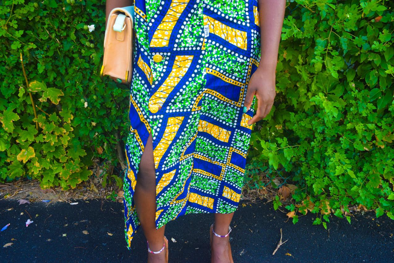 Befitting Style Oyinkan Wearing Ankara Dress NYFW Day 1 24