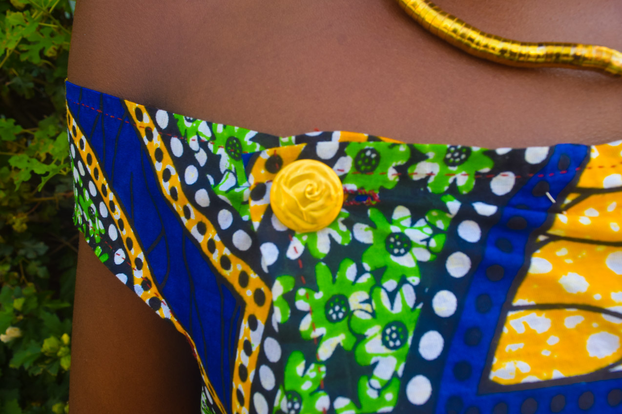 Befitting Style Oyinkan Wearing Ankara Dress NYFW Day 1 25
