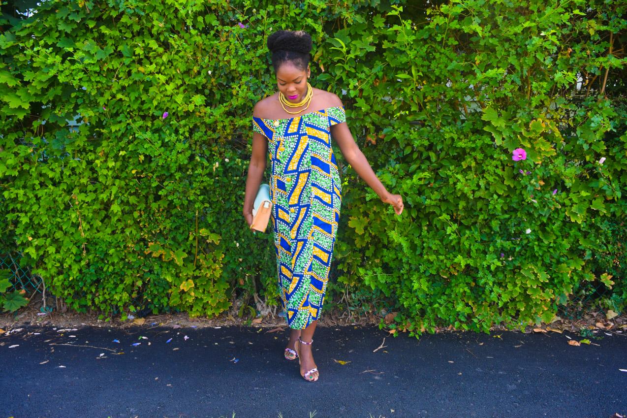 Befitting Style Oyinkan Wearing Ankara Dress NYFW Day 1 7