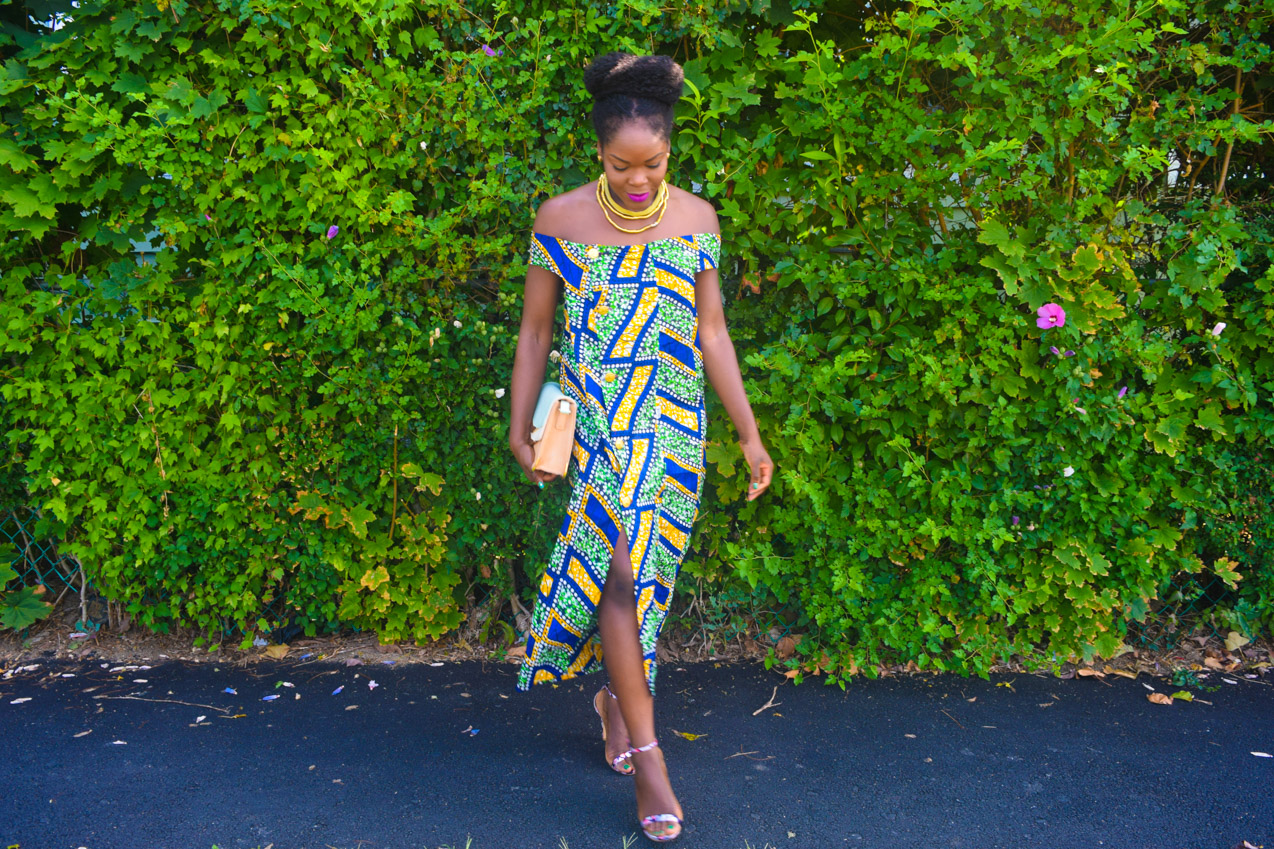 Befitting Style Oyinkan Wearing Ankara Dress NYFW Day 1 8