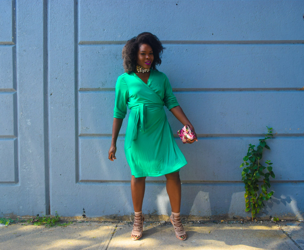 befitting-style-oyinkan-wearing-green-wrap-dress-fall-10