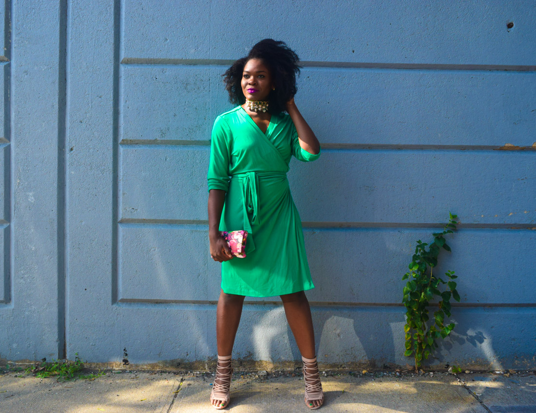 befitting-style-oyinkan-wearing-green-wrap-dress-fall-15