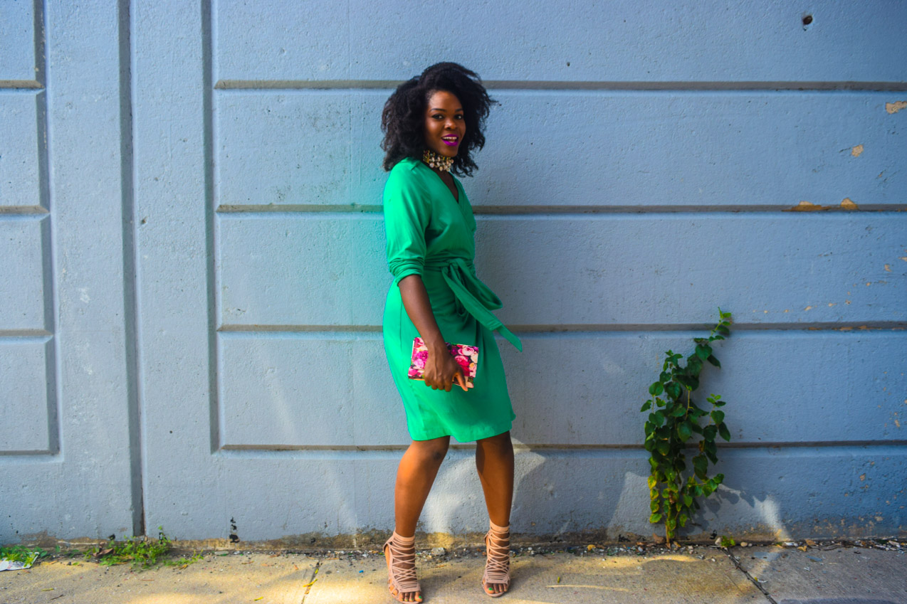 befitting-style-oyinkan-wearing-green-wrap-dress-fall-3