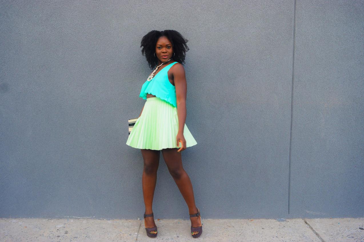 befitting-style-oyinkan-wearing-mint-green-look-glitter-heels-1