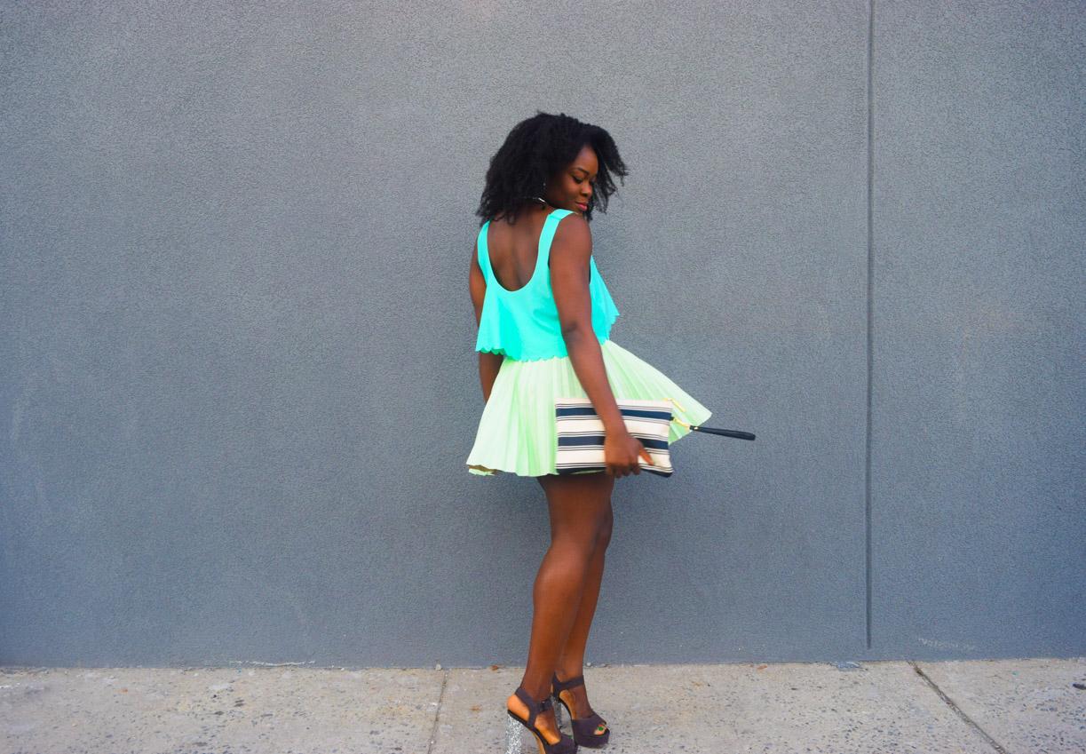 befitting-style-oyinkan-wearing-mint-green-look-glitter-heels-4