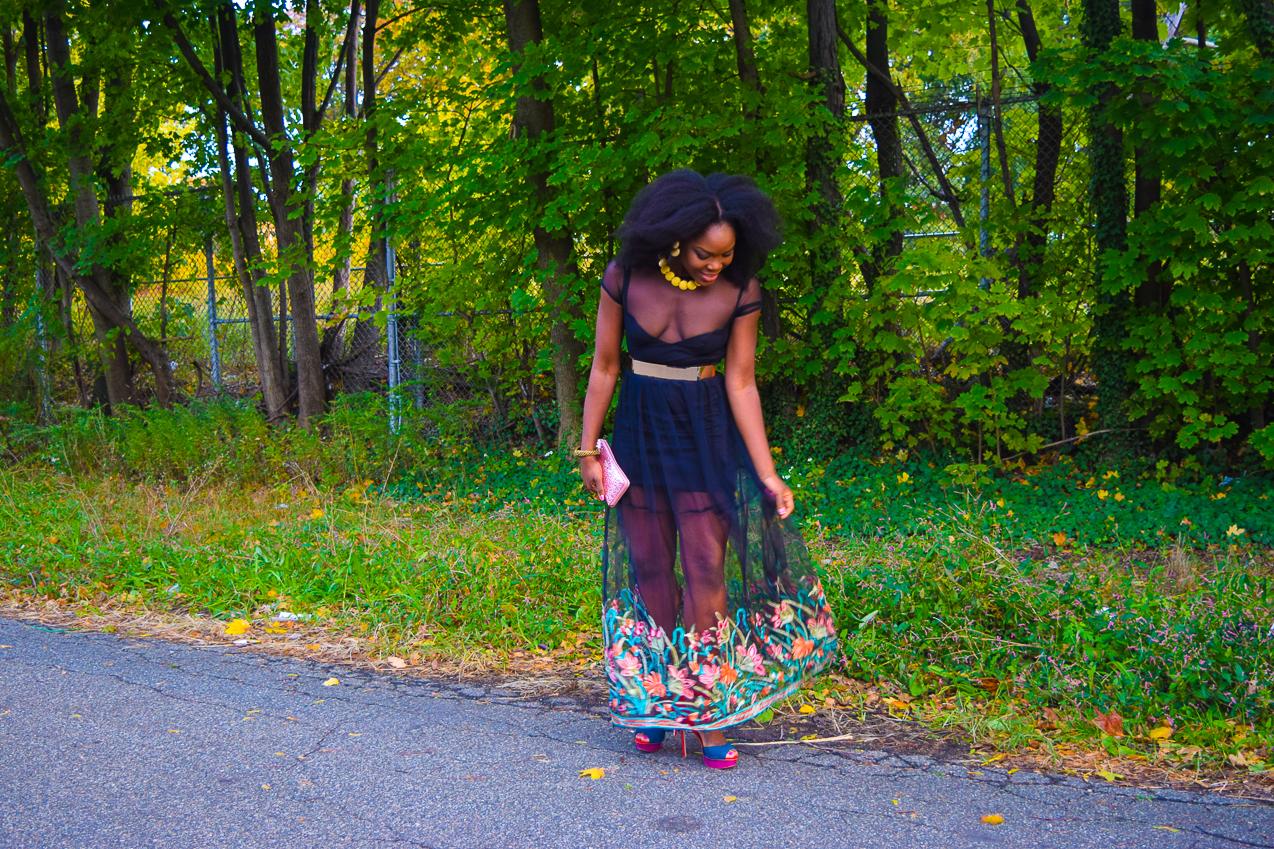 befitting-style-oyinkan-wearing-black-mesh-dress-color-hem-line-11