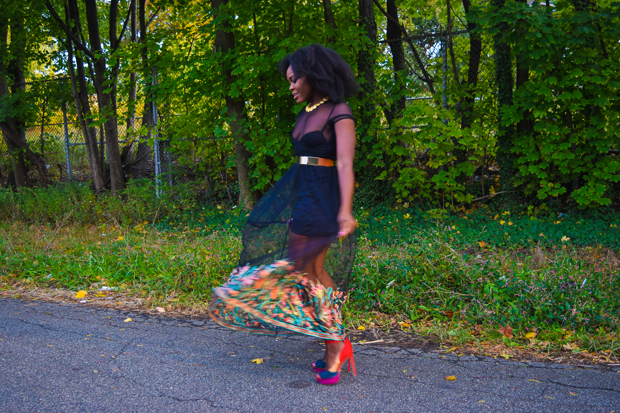 befitting-style-oyinkan-wearing-black-mesh-dress-color-hem-line-9