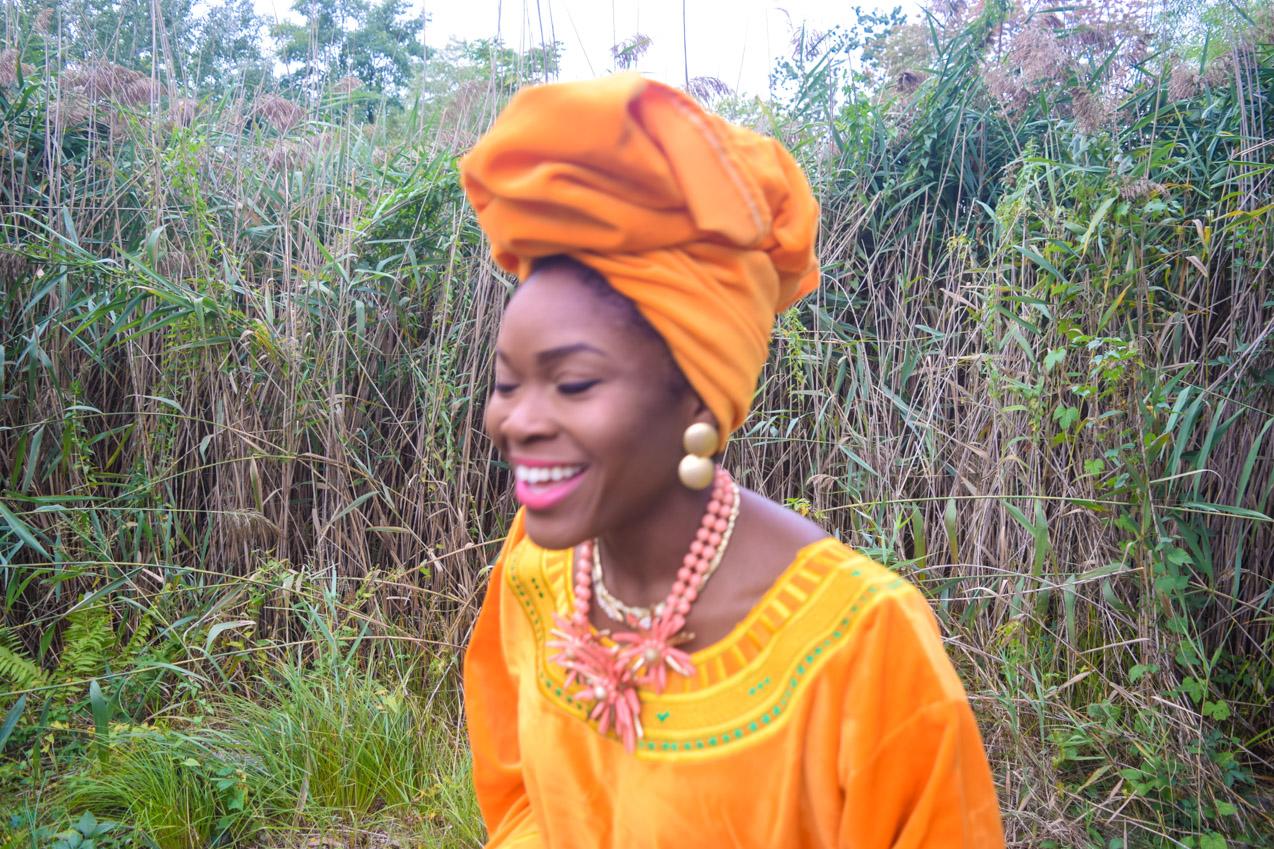 befitting-style-oyinkan-wearing-golden-yellow-kaftan-nigerian-independence-day-11