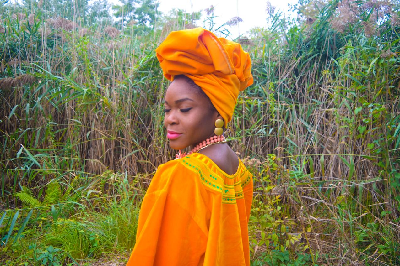 befitting-style-oyinkan-wearing-golden-yellow-kaftan-nigerian-independence-13