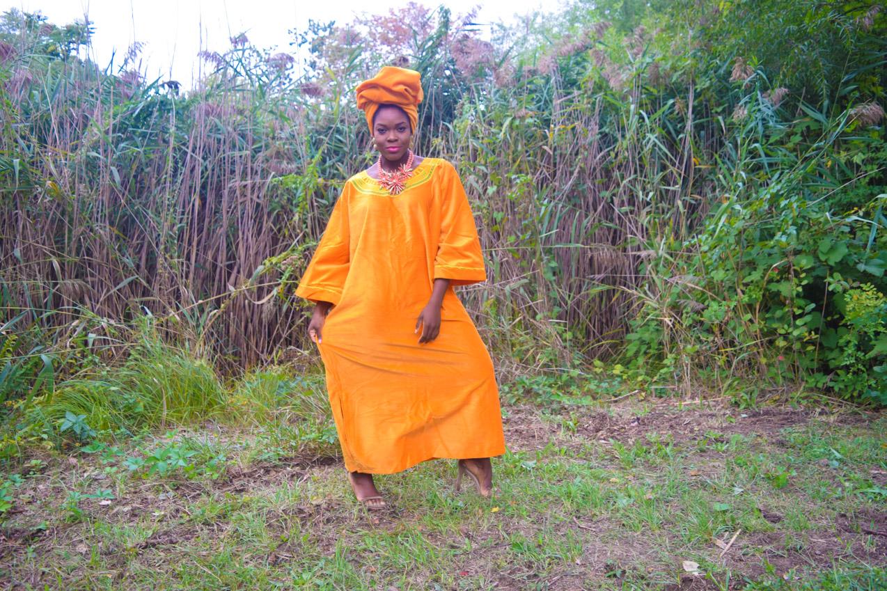 befitting-style-oyinkan-wearing-golden-yellow-kaftan-nigerian-independence-2