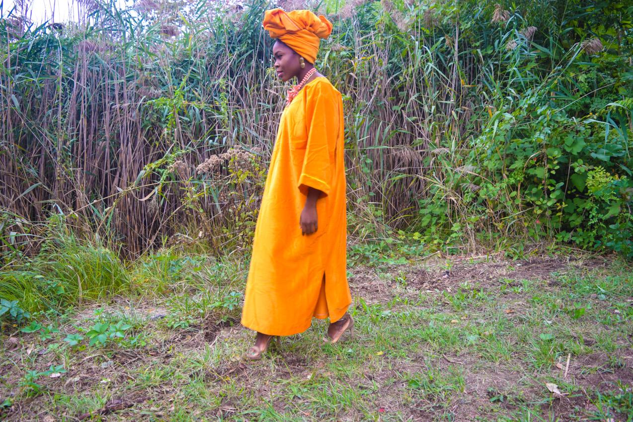 befitting-style-oyinkan-wearing-golden-yellow-kaftan-nigerian-independence-4