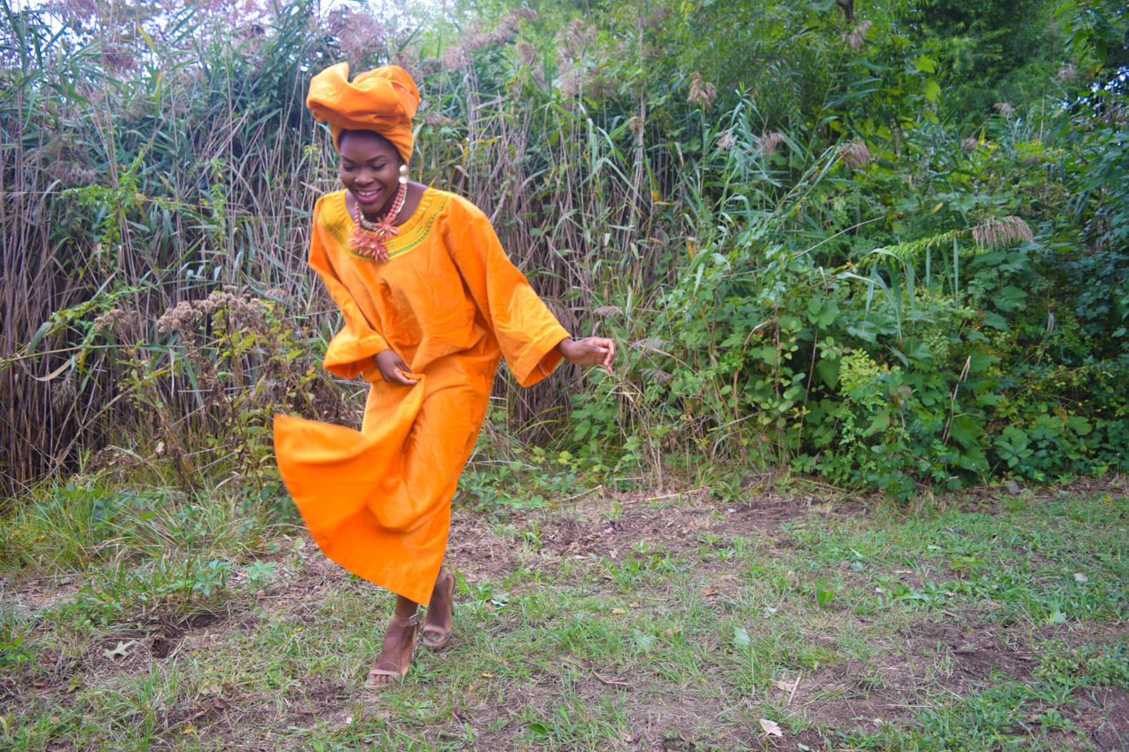 befitting-style-oyinkan-wearing-golden-yellow-kaftan-nigerian-independence-6