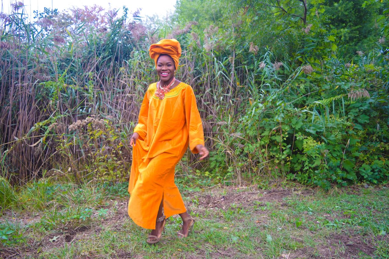 befitting-style-oyinkan-wearing-golden-yellow-kaftan-nigerian-independence-7