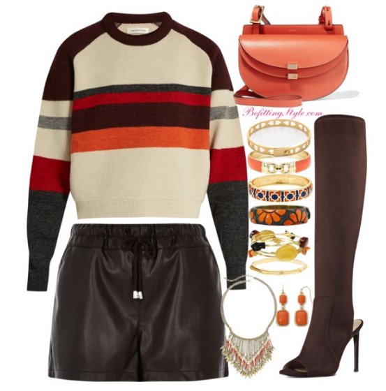befitting-style-sweater-weather-maroon-stripe-faux-leather-joggers