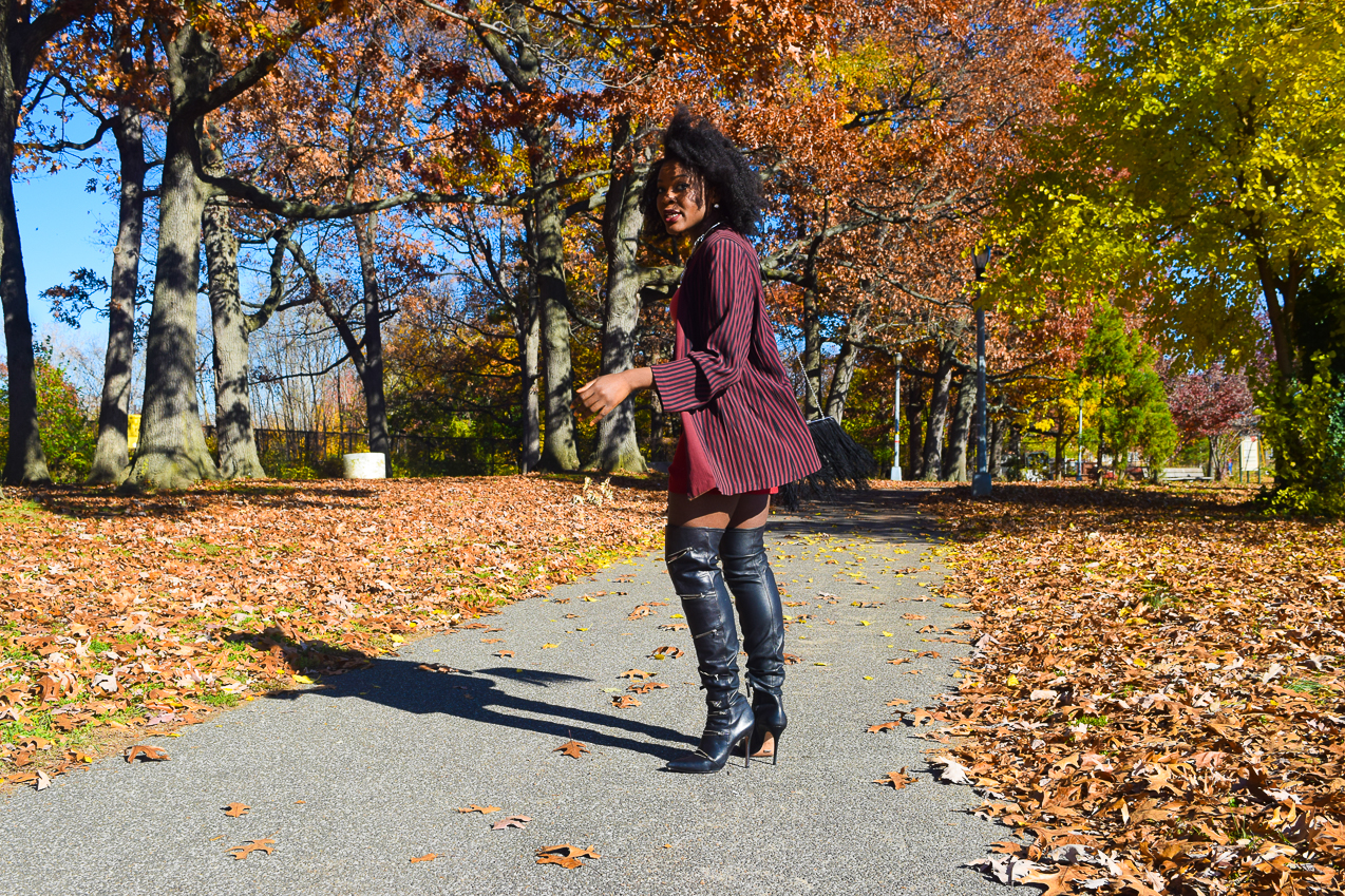 befitting-style-oyinkan-wearing-pumpkin-bodysuit-burgundy-duster-thigh-high-boots-14