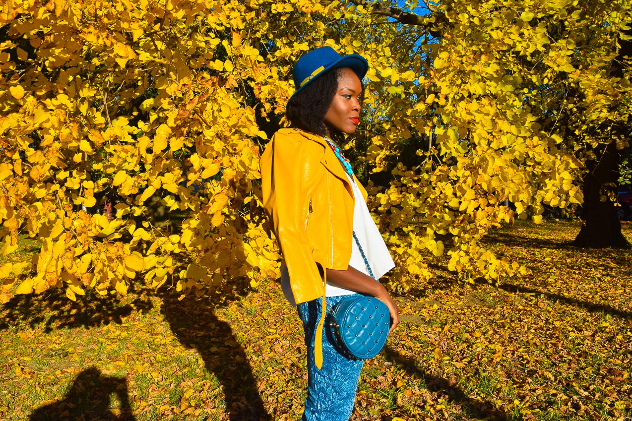 befitting-style-oyinkan-wearing-yellow-leather-jacket-blue-pants-16