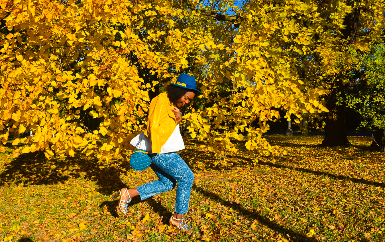 befitting-style-oyinkan-wearing-yellow-leather-jacket-blue-pants-4