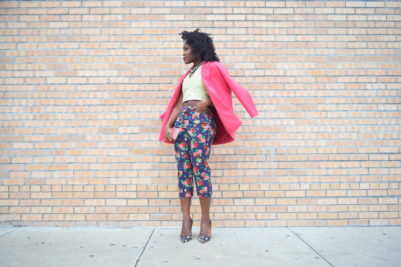 befitting-style-oyinkan-wearing-pink-blazer-floral-pants-7