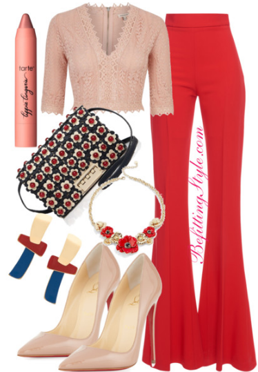 Befitting Style Valentines Day Lookbook Wide Leg Pants