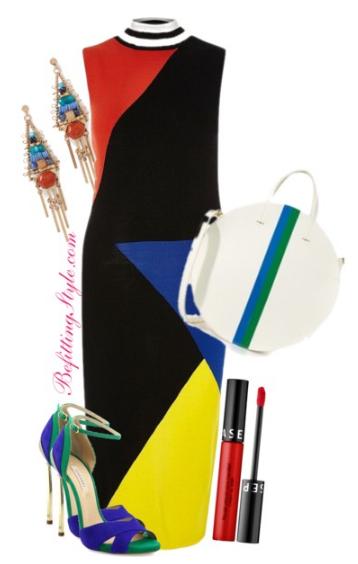 Color Block into Spring - Midi Dress - Befitting Style