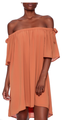 Off the shoulder dress Spring Essentials Befitting Style