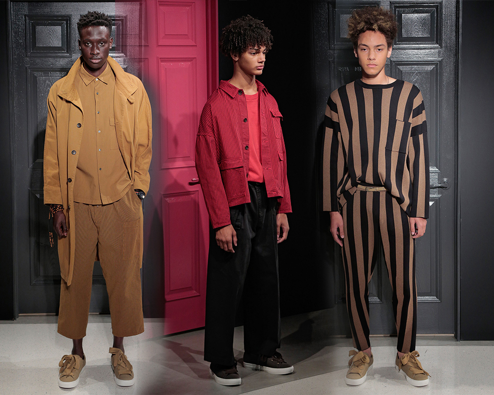 Striped Up At Gustav Von Aschenbach | NYFWM SS18