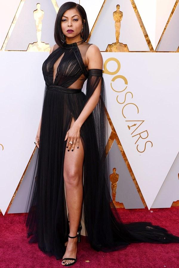 Oscars 2018 Best Dressed taraji p henson